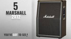 marshall 2x12 vertical slant guitar cabinet top 5 marshall 2x12 2018 best sellers marshall mx212a 160w 2x12