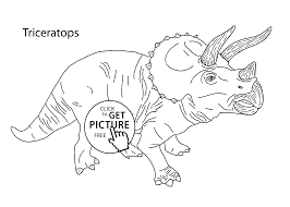 triceratops coloring page triceratops dinosaur coloring pages