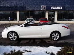 2008 blizzard white pearl toyota solara sle v6 convertible
