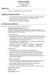 banquet sales coordinator cover letter