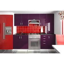 cuisine couleur bordeaux brillant cuisine couleur bordeaux brillant cuisine noir brillant bordeaux