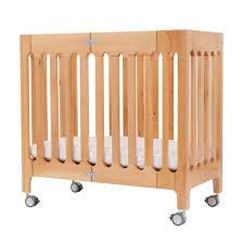 Mini Travel Crib by Alma Mini Solid Wood Crib U2013 Bloom