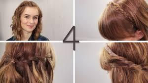 Einfache Frisuren Selber Machen Offene Haare by Haare 4 Offene Flechtfrisuren Wasserfall Zwirbeln Flechten
