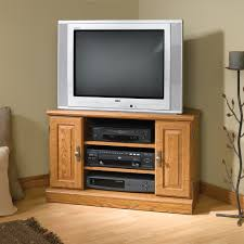Sauder Tv Stands And Cabinets Furniture Custom Sauder Tv Stand In Black Made Of Wood On Wooden