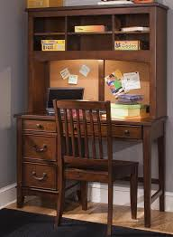 Double Pedestal Desk With Hutch by Single Pedestal Student Desk By Liberty Furniture Wolf And