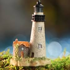 lighthouse home decor miniature lighthouse coastal decor home decor