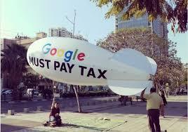 google tel aviv office blimp outside google u0027s tel aviv office reads u0027google must pay tax u0027