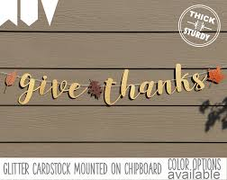 give thanks banner fall banner thanksgiving decorations
