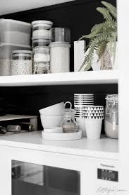 Smart Open Storage With A Custom Ikea Pantry Black Wall Pantry Littlefew Com Organization Kitchen Pantry