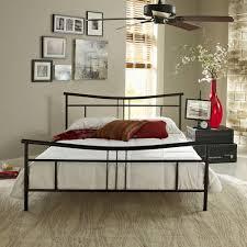 Premier Platform Bed Frame Premier Annika Metal Platform Bed Frame Black With Bonus