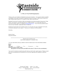 Tax Letter For Donation Sample Letter Requesting Food Donations For Nonprofit Cover
