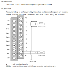 etsnz how do i wire the bmxamo0802 analog module for a m340 plc