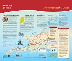 Cable Car Map Beara Tourism