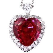 heart stone necklace pendants images 46 best birth month stone necklace images birth jpg