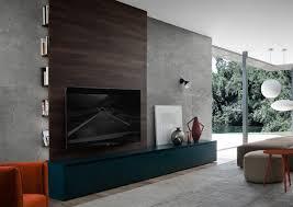 tv design mã bel funvit beton holz küche