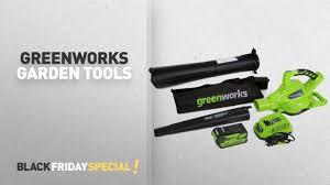 greenworks lawn u0026 garden tools black friday deals amazon black