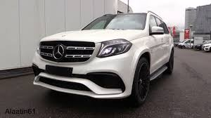 mercedes jeep 2016 white inside the mercedes benz gls63 amg 2017 sound in depth review