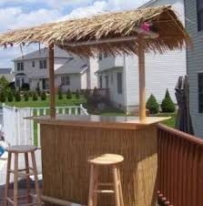 Tiki Outdoor Furniture by Tiki Bar Set Outdoor Home Tiki Hut Kits