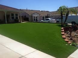 fake turf ali chuk arizona landscaping business front yard