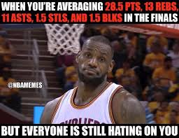 Lebron Hater Memes - nba memes haters gonna hate cavs nation lebron facebook