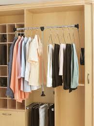 How To Build Closet Shelves Clothes Rods by 3 Smart Closet Upgrades Hgtv