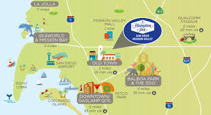 Map Of Balboa Park San Diego by Hampton Inn San Diego Mission Valley Usa Booking Com