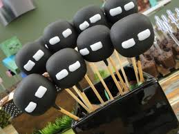 cakepops decorados do minecraft festa pinterest themed