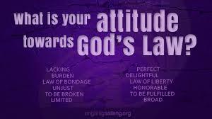 right attitude towards god u0027s law u2022 ang tinig sa ilang
