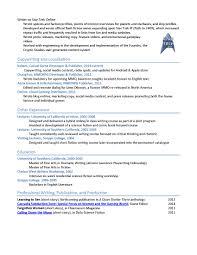 Copywriting Resume Resume