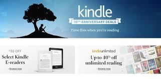 save up to 40 on a bunch of kindle products until wednesday