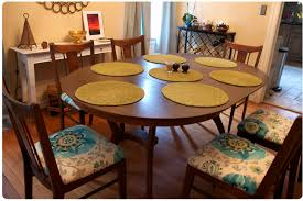 Astounding Dining Room Chair Pads With Ties  For Your Diy Dining - Pads for dining room table