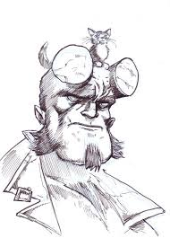 hellboy coloring pages hope for the future hellboy