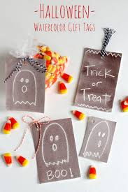 halloween gift tags spooky halloween watercolor gift tags make and takes