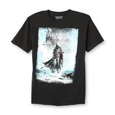 Spin Flag Ubisoft Young Men U0027s Graphic T Shirt Assassin U0027s Creed Iv Black Flag