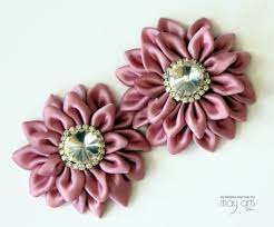 ribbon flowers kanzashi ribbon flower tutorial may arts wholesale ribbon company