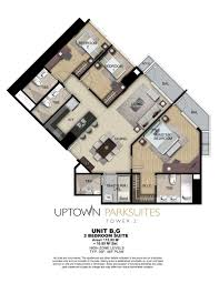 Viceroy Floor Plans Uptown Parksuites Tower 2 Floor Plans