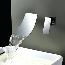 Bathroom Taps With Shower Attachment Wall Mounted Waterfall Bath Taps With Shower Attachment Water
