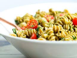 pasta salad pesto pesto pasta salad happy healthy mama
