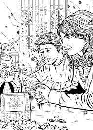 25 coloring pages of harry potter and the prisoner of azkaban on