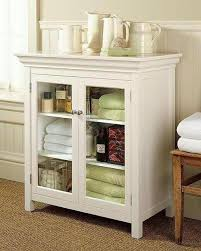 Bathroom Storage Units Free Standing Marble Top Sundry Tower Pottery Barn Bathroom Floor Storage
