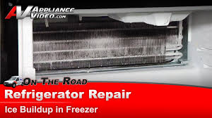 refrigerator repair u0026diagnostic ice in freezer maytag whirlpool