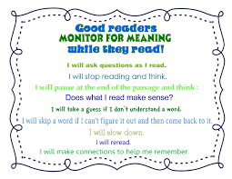 close reading monitoring for meaning the curriculum corner 4 5 6