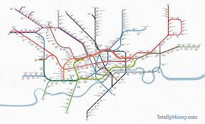 London Metro Map by London Underground Map Shows The Price Per Square Foot Of Property