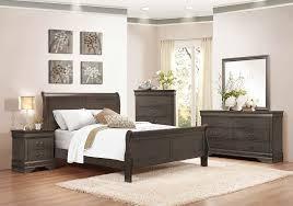 Grand Estates Sleigh Bedroom Set Mayville 4pc Bedroom Set