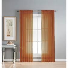 Burnt Orange Sheer Curtains Uncategorized Burnt Orange Sheer Curtains For Exquisite Curtains