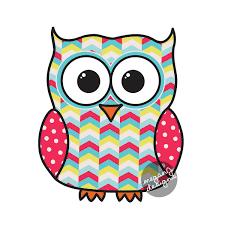 colorful tribal pattern owl car decal sticker geometric cute