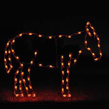 Outdoor Lit Nativity Scene by Nativity Light Displays Led Christmasnightinc Com