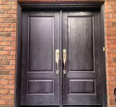 Stain For Fiberglass Exterior Doors Re Staining Fiberglass Exterior Doors Exterior Doors And Screen