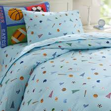 Sports Comforter Sets Twin Blue Sports Game Kids Bedding Twin Full Queen Comforter Set Cotton