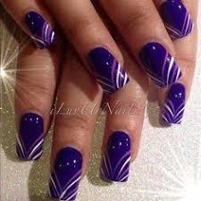45 purple nail designs fashion black manicure and